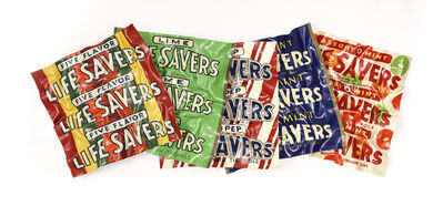 Paul Rousso, 'Five More Flavours of Lifesavers', 2018