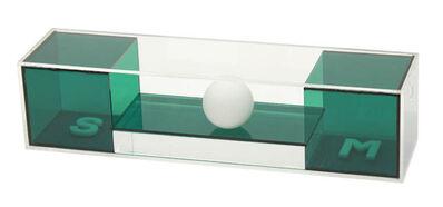 Osmar Dillon, 'SOM - Tridimensional | verde', 2010