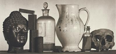 Irving Penn, 'Still Life with Skull, Pitcher and Medicine Bottle, New York', 1981