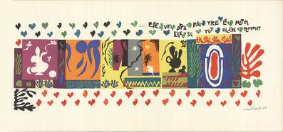 Henri Matisse, 'Mille et une Nuits', 1954