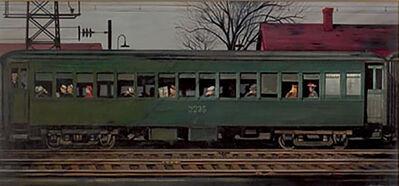 Stevan Dohanos, 'A Passenger Train', 1945