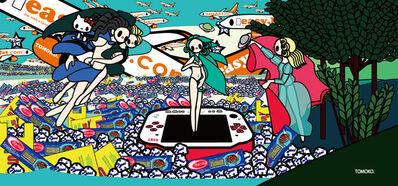 Tomoko Nagai, 'Botticelli - The Birth of Venus with Baci, Esselunga, Barilla, PSP and EasyJet', 2012