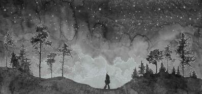 Hans Op de Beeck, 'The Night Walkers (5)', 2020
