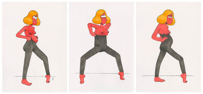Miranda Tacchia, 'When you're putting on leggings', 2019