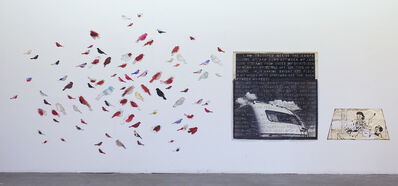 Vernon Fisher, '84 Sparrows', 1980