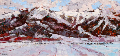 Robert Moore (b. 1957), 'Foothills', 2016