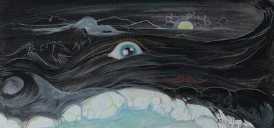 Vidya Gastaldon, 'Sans titre (oeil + moustache)', 2011