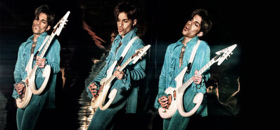 Steve Parke, 'Prince Playing Guitar', 1999