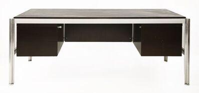 George Ciancimino, 'A large mahogany desk', c. 1970