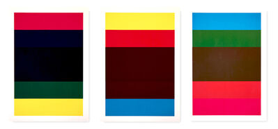 Heimo Zobernig, 'Untitled (Triptych)', 1998