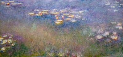 Claude Monet, 'Water Lilies (Agapanthus)', c. 1916-26