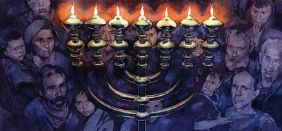 Greg Harlin, 'Hannukah at Valley Forge', 20th Century
