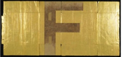 """Danh Vō, 'Alphabet-""""F"""", 90°E', 1975"""
