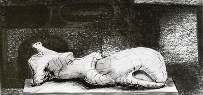 Henry Moore, 'Reclining Figure Architectural Background I', 1977/1980