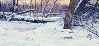 William Nichols, 'Frozen Creek Cedaburg (study)', 2010