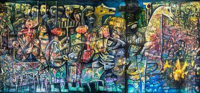 "Fahri Aldin, '""The Babylonian Exile""', 2017"