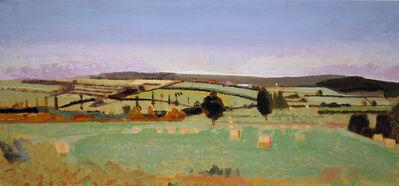 John Evans, 'Field in Burgundy', 2008