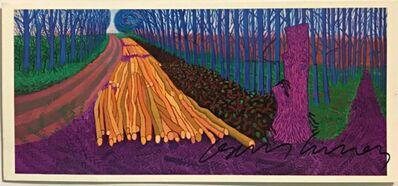 David Hockney, 'Winter Timber (Hand signed)', 2012