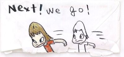 Yoshitomo Nara, 'Next! we go!', 2003