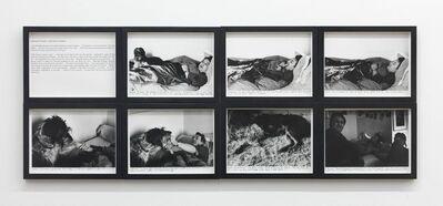Sophie Calle, 'The Sleepers - RaphaĂŤl Brossard', 1980