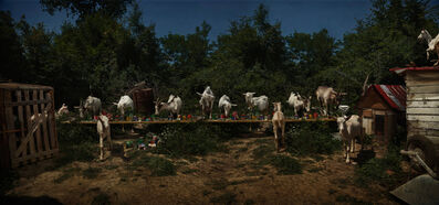 Claire Rosen, 'The Goat Feast', 2013