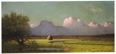Martin Johnson Heade, 'Sunlight and Shadow: The Newbury Marshes', ca. 1871/1875