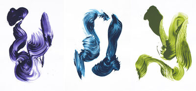 James Nares, 'Three Aces', 2002