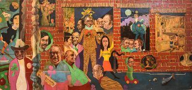 Noel Rockmore, 'McGlade's Bar Mural Panel No. 3', ca. 1970