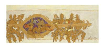 M. F. Husain, 'Untitled (Wedding Chariot)', 1971