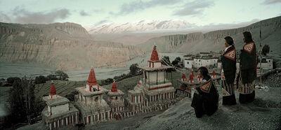Jimmy Nelson, 'XII 166 Tsering Yangzom, Tachung & Tsering Wangmo Tangge Village, Upper Mustang Nepal - Mustang, Nepal', 2011