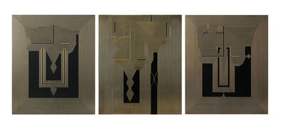 Francisco Larios, 'Untitled 25, Untitled 26 & Untitled 27 Tryptych ', 2019
