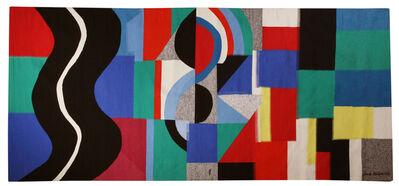 Sonia Delaunay, 'Serpent Noir', 1971