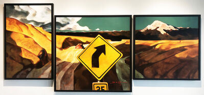 Z.Z. Wei, 'Mountain Bound (Triptych)', 2018