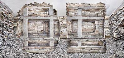 Marjan Teeuwen, 'Destroyed House Piet Mondriaanstraat 1', 2011