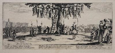 Jacques Callot, 'Les Grandes Misères de la Guerre [The Large Miseries of War] The complete set of 18 plates', 1633