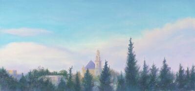 Jim Schantz, 'Dormition Abbey, Post Storm    '