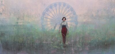 Federico Infante, 'The trapeze girl',