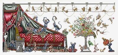 Raqib Shaw, 'Monkey King Boudoir I', 2012