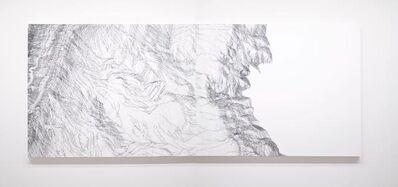 Mio Yamato, 'Repetition Black (line) 8, 9 Dyptich, 2019', 2019