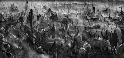 David Yarrow, 'Mankind II (B&W)', 2014
