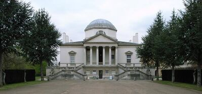 Richard Boyle, 3rd Earl of Burlington, 'Chiswick House', 1724-1729