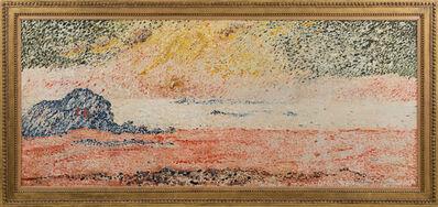 François Victor Valtat, 'Paysage au coucher de soleil', ca. 19
