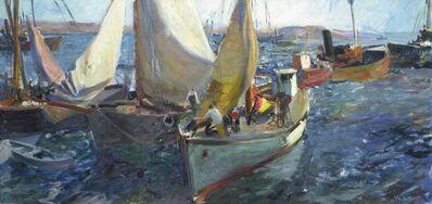 John Whorf, 'Harbor Scene'