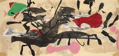 Perle Fine, 'Printed Collage #2', 1959
