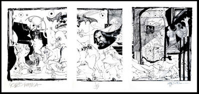 Ralph Steadman, 'Gonzo Guernica ', 2013