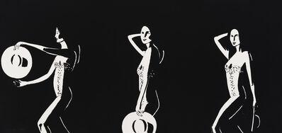 Alex Katz, 'Ariel Black', 2016