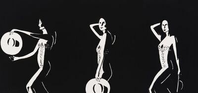 Alex Katz, 'Ariel Black and White', 2016