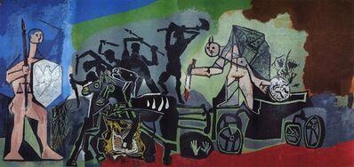 Pablo Picasso, 'The Enemy Comes for Blood (La Paix Rouge)', 1954