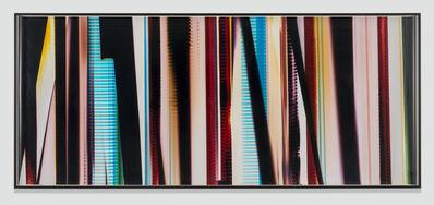 Walead Beshty, 'RA4 Contact Print [Black Curl (CMY/Six Magnet: Los Angeles, California, December 19, 2013, Fuji Color Crystal Archive Super Type C, Em. No. 101-007, 44313), Kreonite KM IV 5225 RA4 Color Processor, Ser. No. 00092174]', 2015