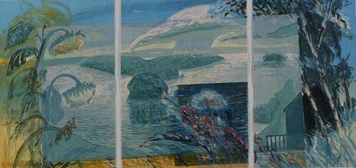 Michael Mazur, 'Wakeby Day ( Triptych )', 1986